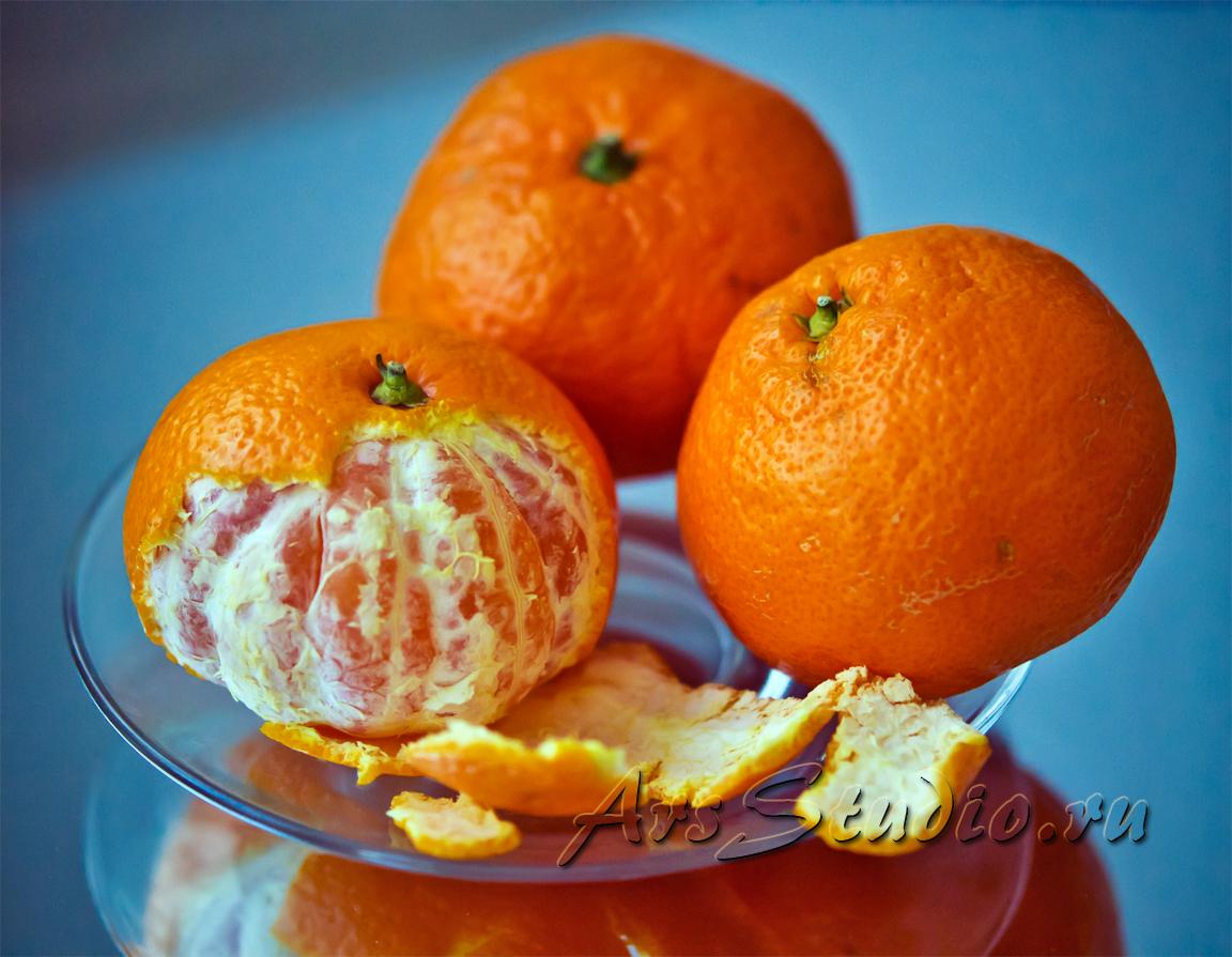 кожура мандарина