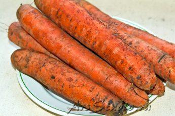 Маски из моркови